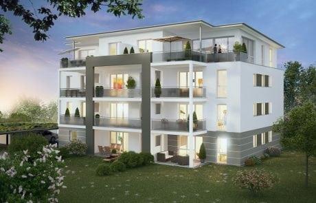 Merz Immobilien Neubau Aistaig Balkone