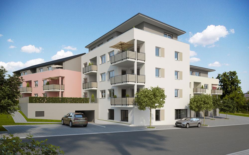 Merz Immobilien Neubauprojekt Das Z Zimmern Ortsmitte 001