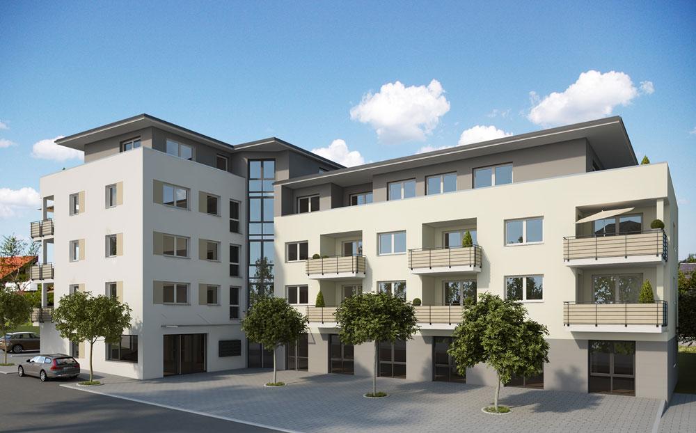 Merz Immobilien Neubauprojekt Das Z Zimmern Ortsmitte 002