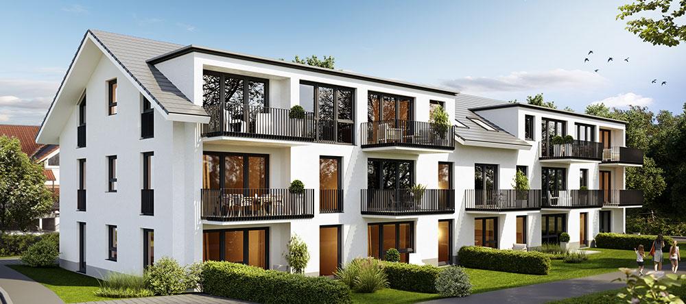 Merz Immobilien Rottweil Top Thema Neubauvorhaben Lindenhof